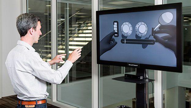 Microsoft crea una interfaz para controlar el ordenador con gestos
