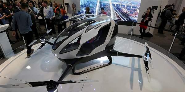 Crean prototipo de dron capaz de transportar personas