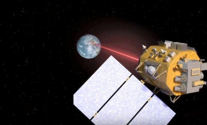 Nuevos planes de comunicación por láser en viajes espaciales