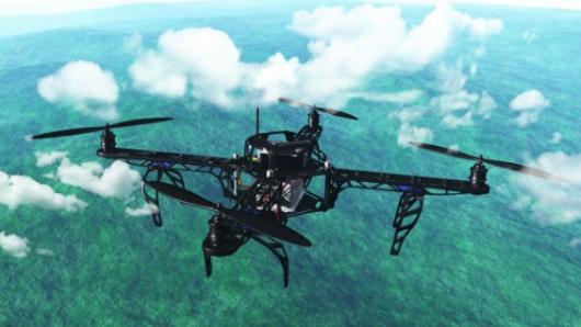 Universidad suiza fabrica un dron con plumas que imita el vuelo de las aves